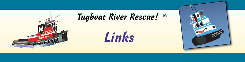 Tugboat River Rescue Links